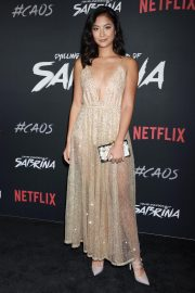 Adeline Rudolph at Chilling Adventures of Sabrina Premiere in Hollywood 2018/10/19 5
