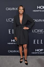 Aja Naomi King at Elle Women in Hollywood in Los Angeles 2018/10/15 1