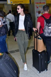 Alessandra Ambrosio Arrives at Airport in Sao Paulo 2018/10/18 1