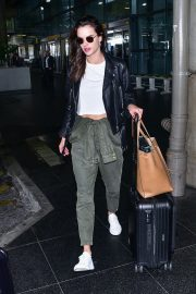 Alessandra Ambrosio Arrives at Airport in Sao Paulo 2018/10/18 6
