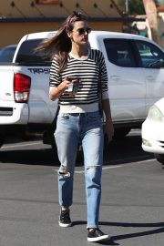 Alessandra Ambrosio Arrives at Top of the Line Skin Care Clinic in Encino 2018/10/16 5