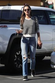 Alessandra Ambrosio Arrives at Top of the Line Skin Care Clinic in Encino 2018/10/16 6
