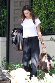 Alessandra Ambrosio Leaves Her House in Brentwood 2018/10/07 5