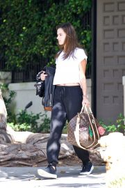 Alessandra Ambrosio Leaves Her House in Brentwood 2018/10/07 6