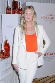 Alexandra Richards at Moet & Chandon and Virgil Abloh New Bottle Collaboration Launch in New York 2018/10/16 3
