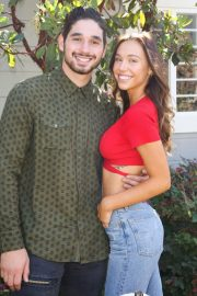 Alexis Ren at Home & Family in Universal City 2018/10/12 3
