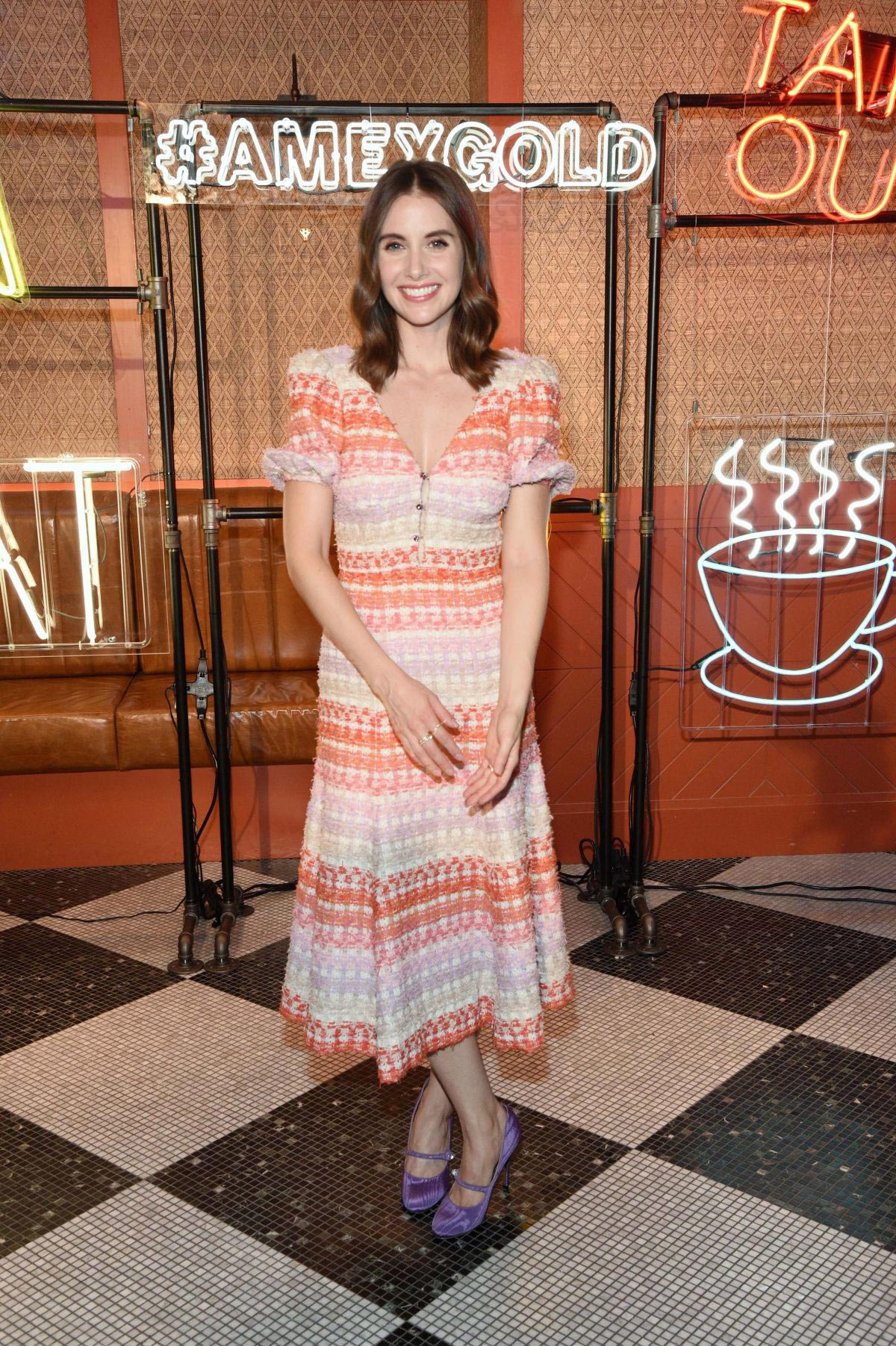 Alison Brie at New American Express Gold Card Launch in New York 2018/10/04 1
