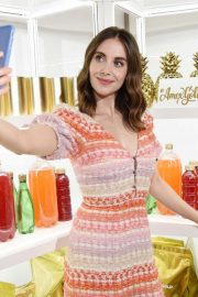 Alison Brie at New American Express Gold Card Launch in New York 2018/10/04 3