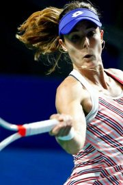 Alize Cornet at 2018 VTB Kremlin Cup International in Moscow 2018/10/16 2