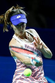 Alize Cornet at 2018 VTB Kremlin Cup International in Moscow 2018/10/16 4