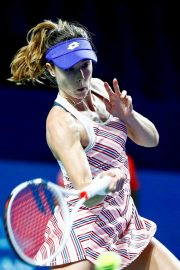 Alize Cornet at 2018 VTB Kremlin Cup International in Moscow 2018/10/16 7