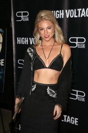 Allie Gonino at High Voltage Premiere in Los Angeles 2018/10/16 10