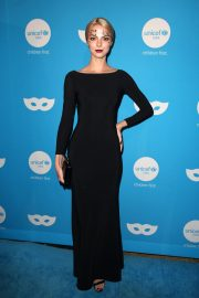 Allie Marie Evans at UNICEF Masquerade Ball in Los Angeles 2018/10/25 5