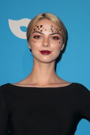Allie Marie Evans at UNICEF Masquerade Ball in Los Angeles 2018/10/25 6