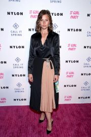 Aly Michalka at Nylon's Annual IT Girl Party in Los Angeles 2018/10/11 2