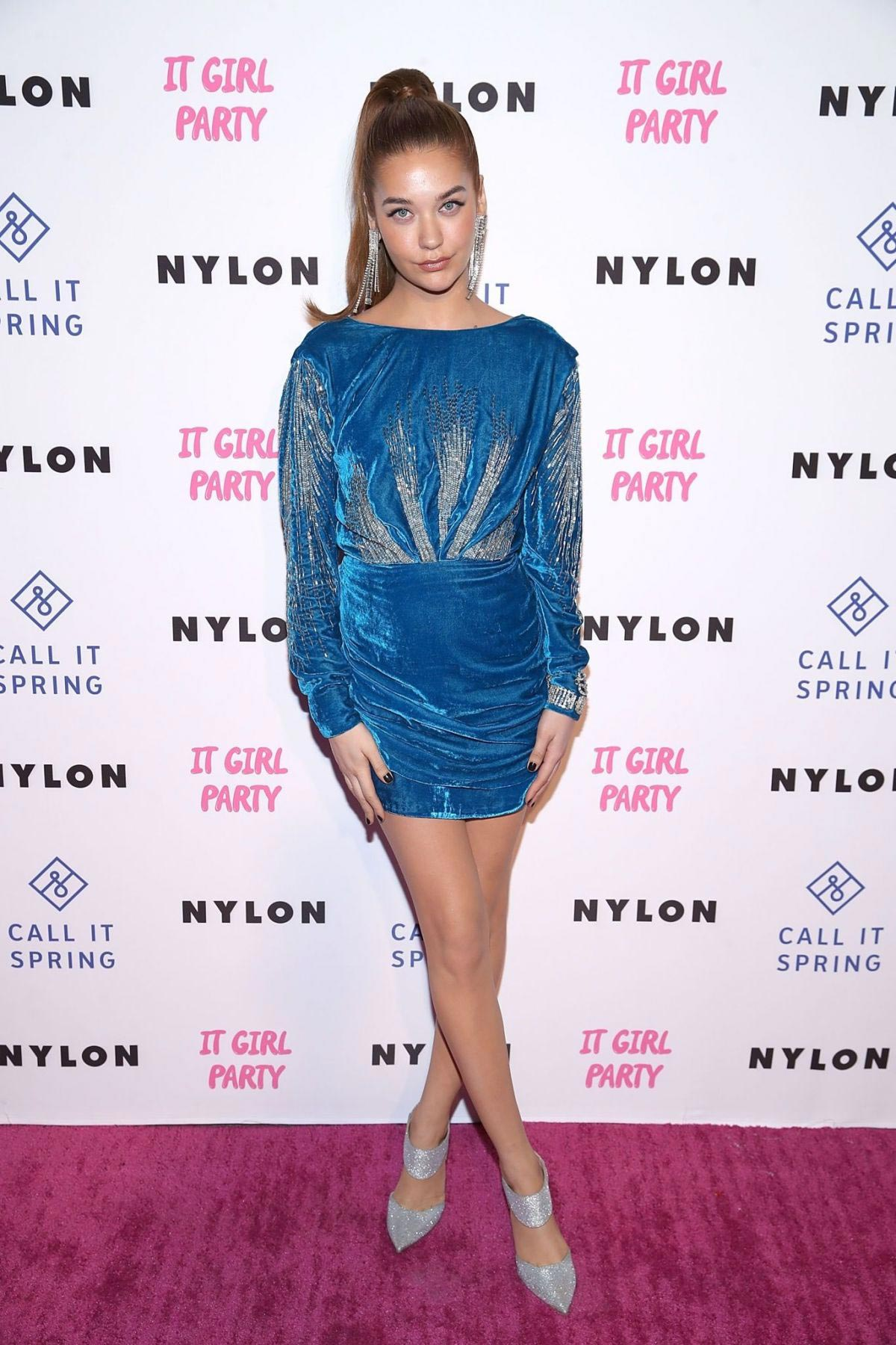 Amanda Steele at Nylon's Annual IT Girl Party in Los Angeles 2018/10/11 1