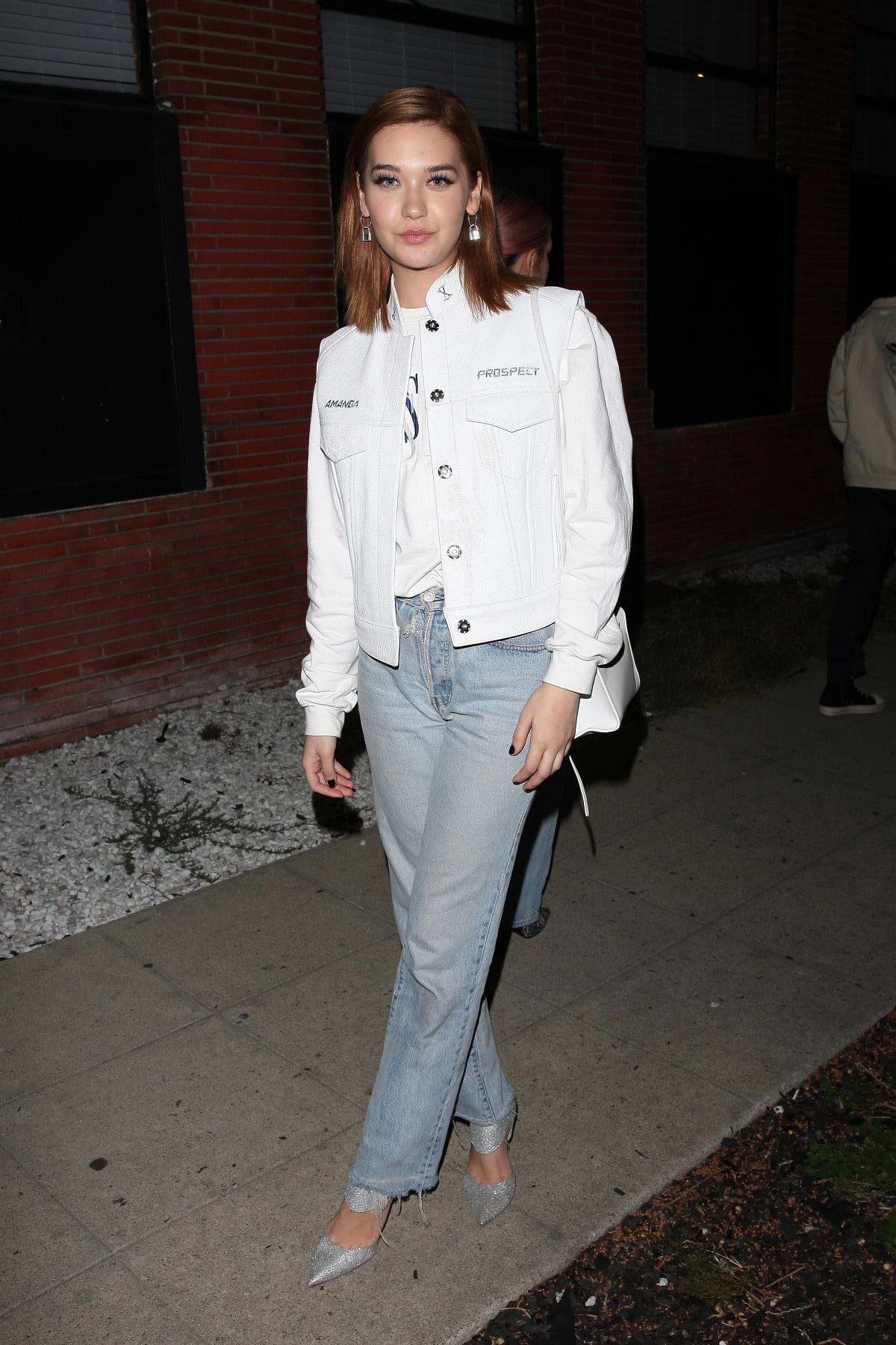 Amanda Steele Night Out in Hollywood 2018/10/13 1