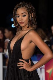 Amandla Stenberg at The Hate You Give Premiere at BFI London Film Festival 2018/10/20 3
