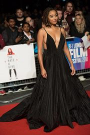 Amandla Stenberg at The Hate You Give Premiere at BFI London Film Festival 2018/10/20 7