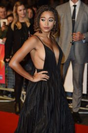 Amandla Stenberg at The Hate You Give Premiere at BFI London Film Festival 2018/10/20 11