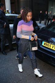 Amandla Stenberg Out and About in London 2018/10/19 3