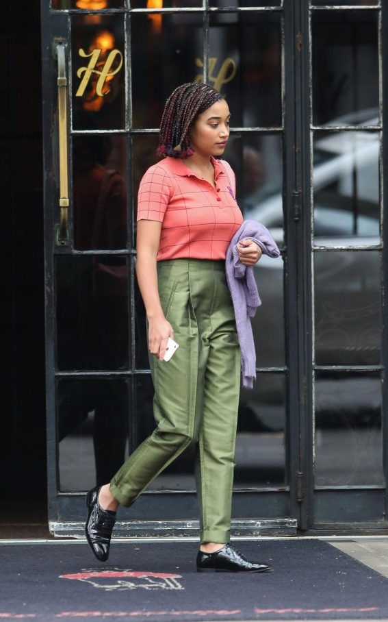Amandla Stenberg Out in New York 2018/10/15 1