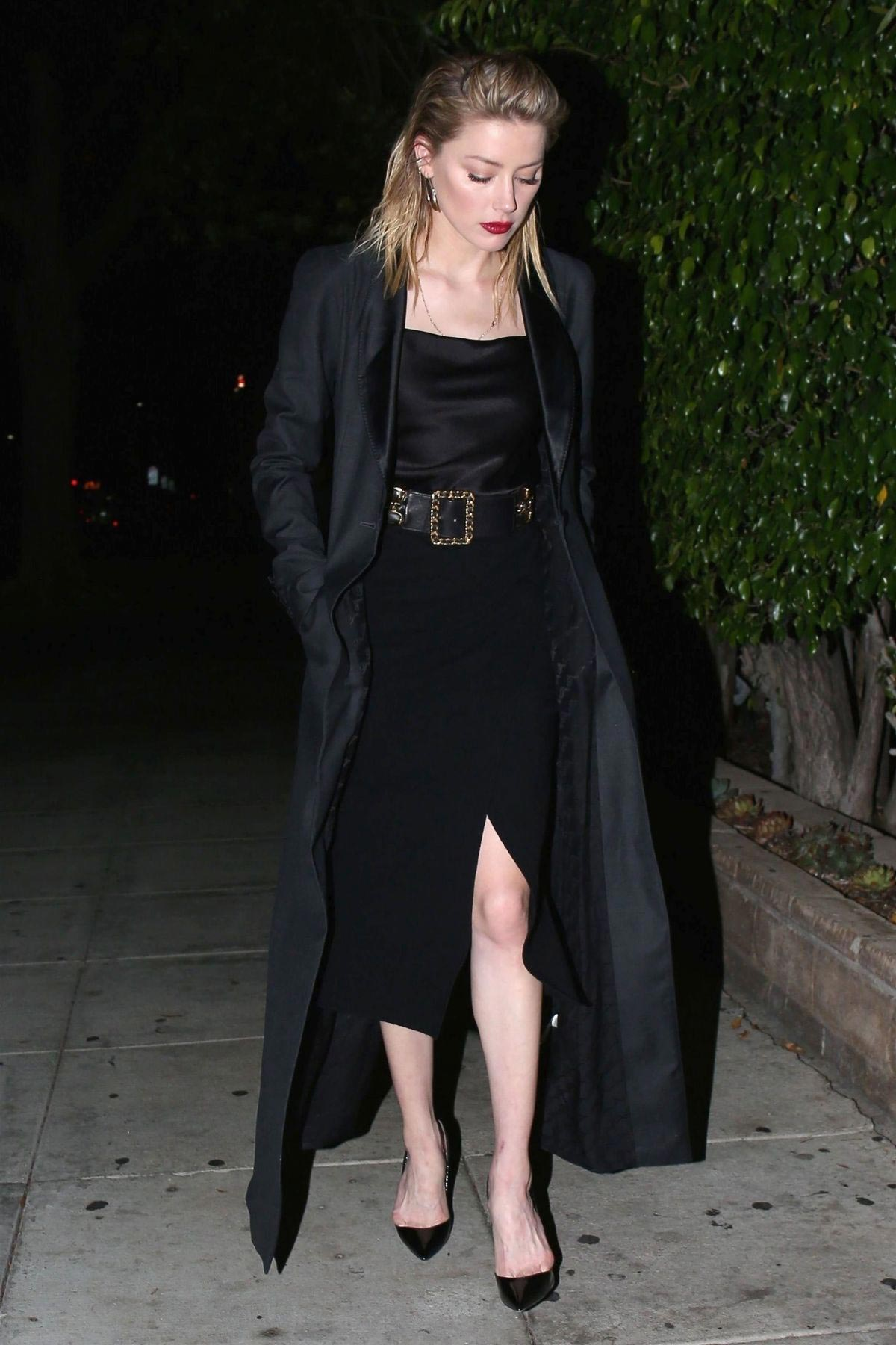 Amber Heard Out for Dinner in Beverly Hills 2018/10/14 1