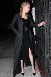 Amber Heard Out for Dinner in Beverly Hills 2018/10/14 2