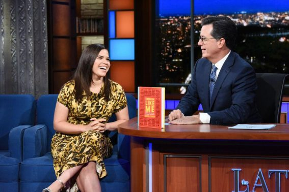 America Ferrera at Late Show with Stephen Colbert 2018/09/25 1