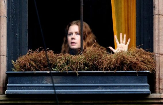 Amy Adams on The Set of Woman in the Window in New York 2018/10/15 1