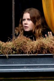 Amy Adams on The Set of Woman in the Window in New York 2018/10/15 2