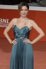 Andrea Delogu at The Girl in the Spider's Web Premiere at Rome Film Festival 2018/10/24 1