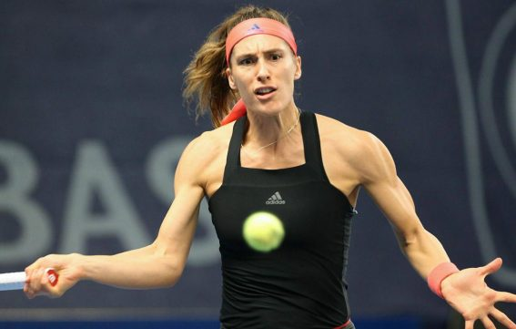 Andrea Petkovic at BGL BNP Paribas Luxembourg Open Tennis 2018/10/16 1