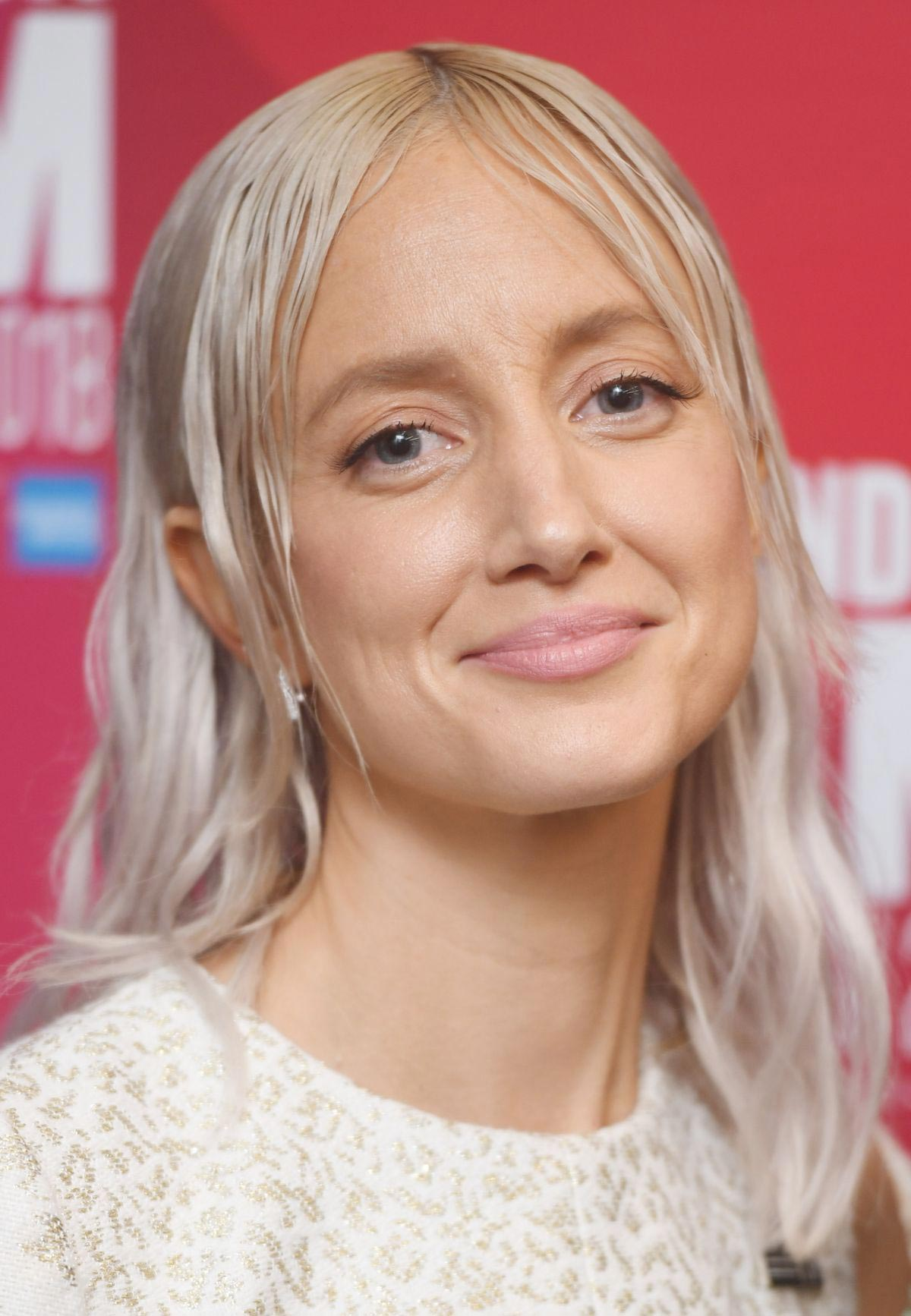 Andrea Riseborough at Nancy Premiere at 2018 BFI London Film Festival 2018/10/13 1