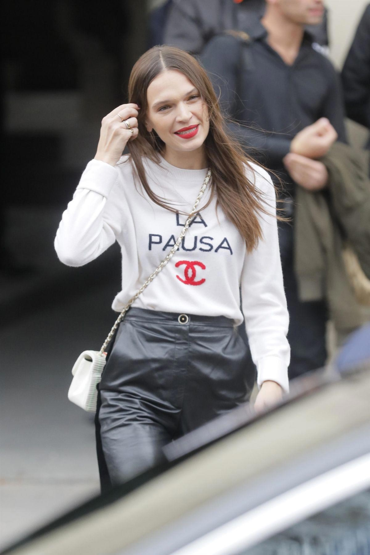 Anna Brewster at Chanel Show at Paris Fashion Week 2018/10/02 1