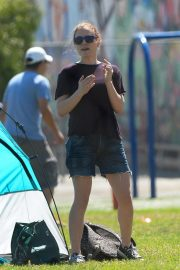 Anna Paquin at a Soccer Game in Los Angeles 2018/09/29 4