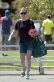 Anna Paquin at a Soccer Game in Los Angeles 2018/09/29 5