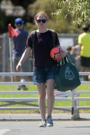 Anna Paquin at a Soccer Game in Los Angeles 2018/09/29 7