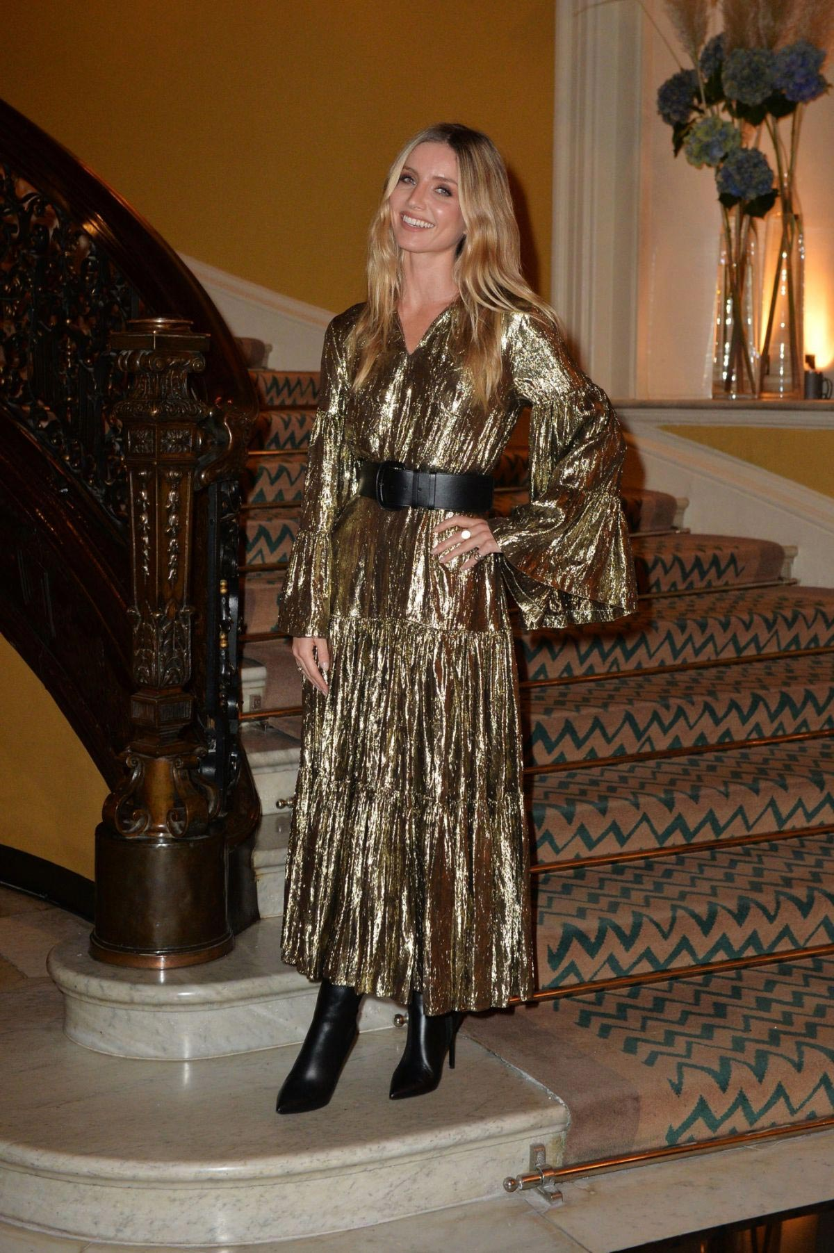 Annabelle Wallis at Michael Kors Cocktail Party in London 2018/10/11 1