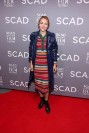 AnnaSophia Robb at Scad Savannah Film Festival Opening Night 2018/10/27 1