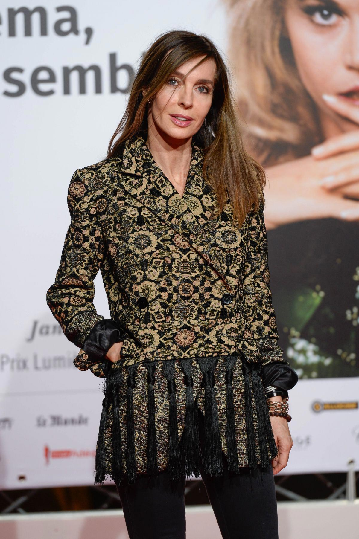 Anne Parillaud at 2018 Lumiere Festival Opening in Lyon 2018/10/13 1