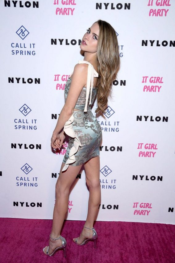 Anne Winters at Nylon's Annual IT Girl Party in Los Angeles 2018/10/11 1