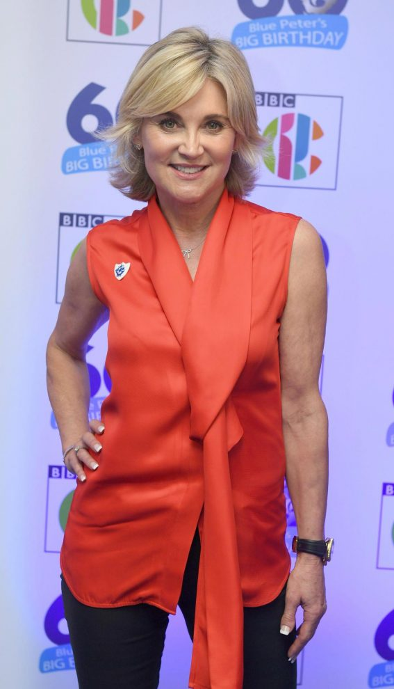 Anthea Turner at Blue Peter's Big Birthday 60 Years Celebration in London 2018/10/16 1