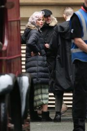 Anya Taylor-Joy on the Set of Peaky Blinders in Manchester 2018/10/12 3