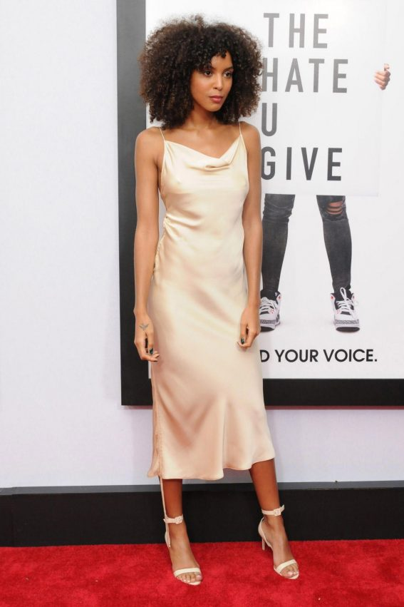 Arlissa Ruppert at The Hate You Give Premiere in New York 2018/10/04 1