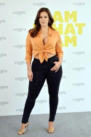 Ashley Graham at Mango Clothes New Line Promotion in Madrid 2018/10/15 6
