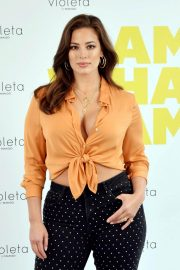 Ashley Graham at Mango Clothes New Line Promotion in Madrid 2018/10/15 7