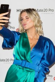 Ashley James at Huawei Mate 20 Pro Launch in London 2018/10/16 6