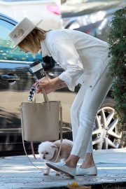 Ashley Tisdale Out with Her Dog in Studio City 2018/10/27 5