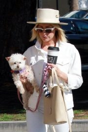 Ashley Tisdale Out with Her Dog in Studio City 2018/10/27 7